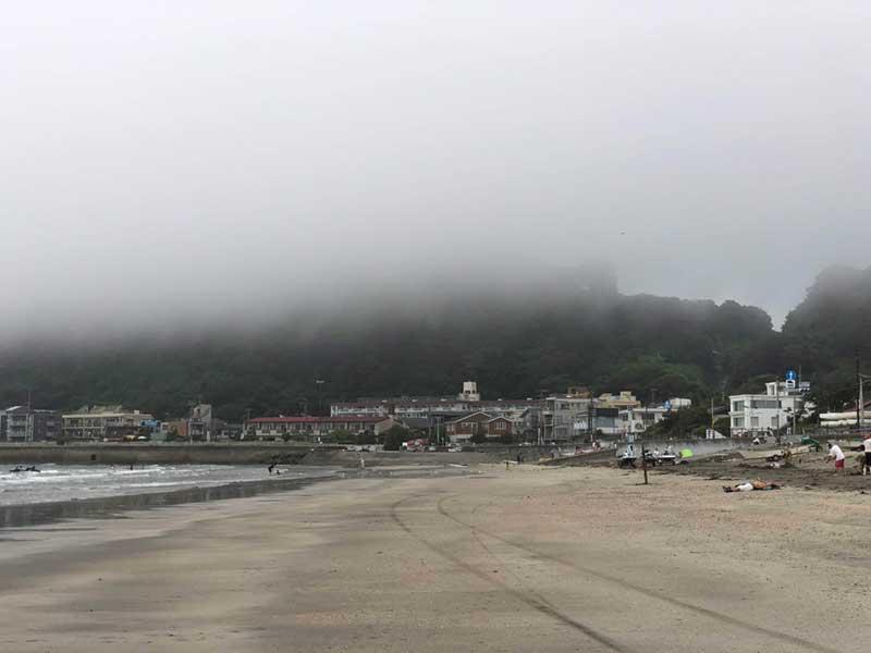 雲みたいな白い霧