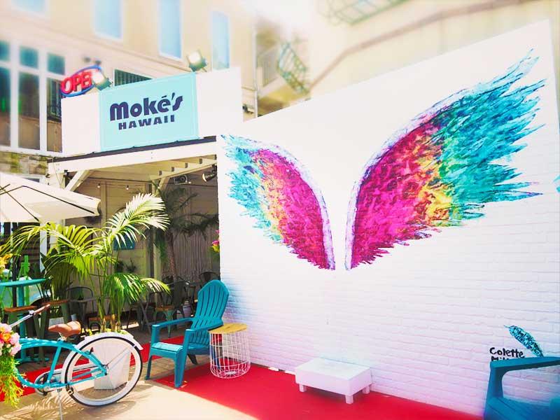 Moke's Hawaii江ノ島店の天使の羽
