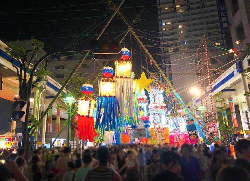 【平塚七夕祭り】2018年来場者は140万人!1位仙台との差は?どれだけ混雑したか写真でお伝えします