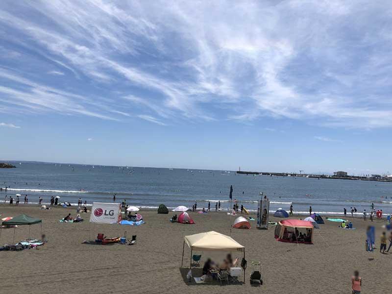 東浜はまだまだ混んでいます