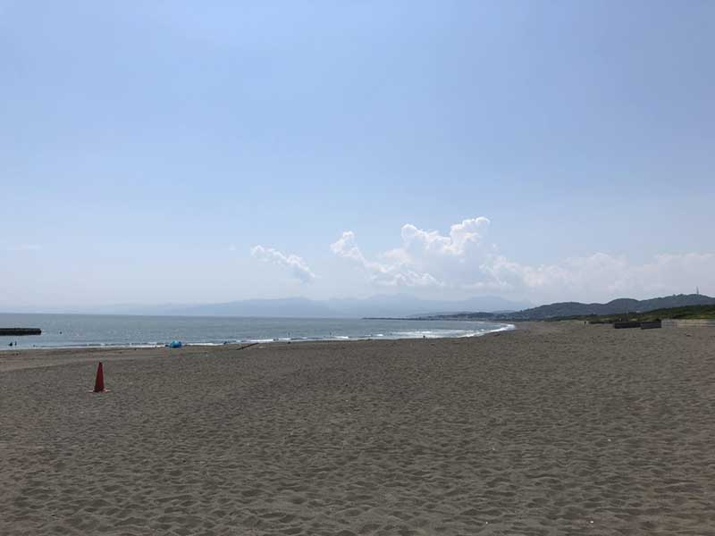 穏やかな平塚の海