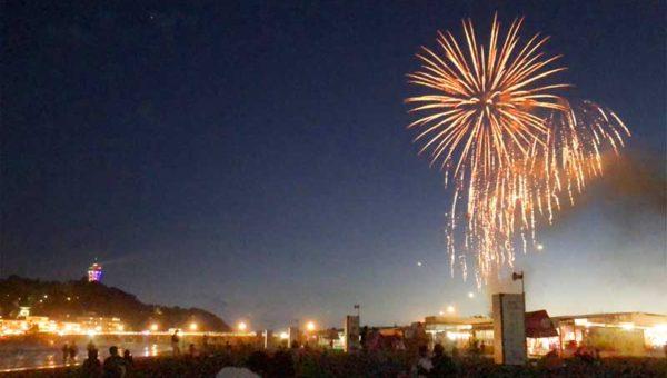 【江の島花火大会は2度ある】夏より秋10月20日が本番!東浜の穴場鑑賞スポットまとめ