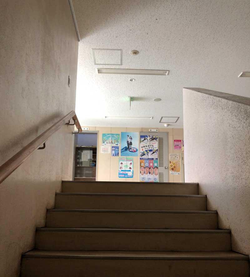 学習室は2階