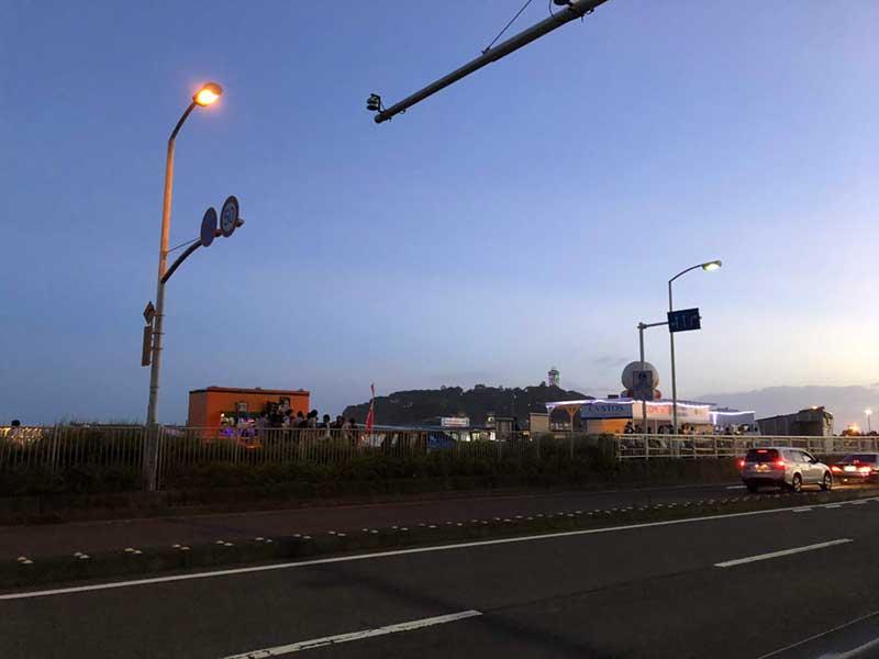 東浜海沿いの134号腺
