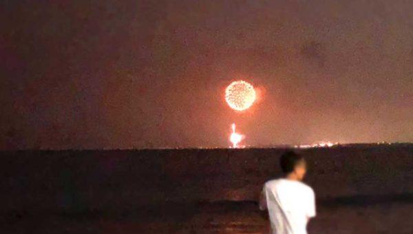 【茅ヶ崎花火大会】穴場の江ノ島・片瀬西浜からはどれくらい見える?大きさは?混雑する?