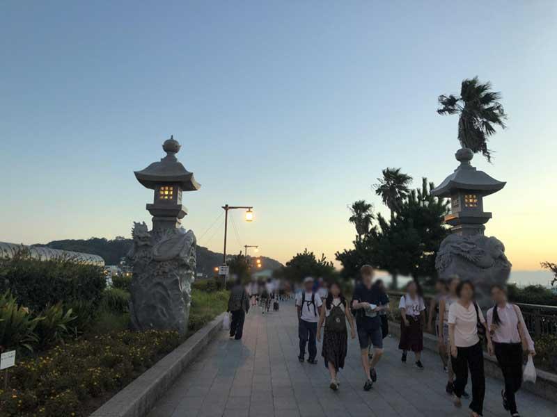 江ノ島にわたる弁天橋