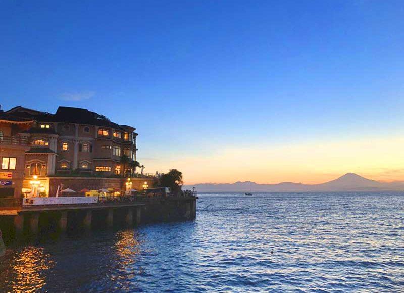 【9月も1年中営業!神奈川おすすめナイトプール】江の島アイランドスパ、えのすぱ!水着で入る天然温泉!海と富士山の絶景夜景!