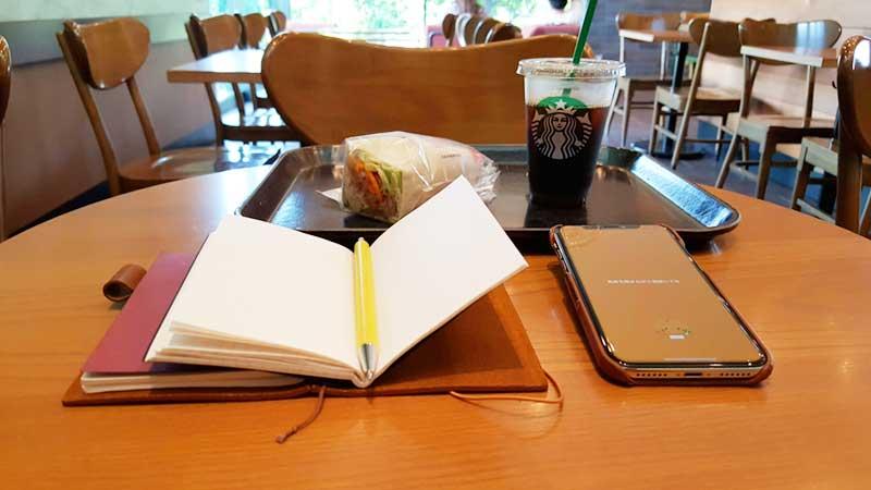 英語の勉強も集中できました