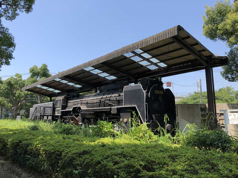 機関車だ!