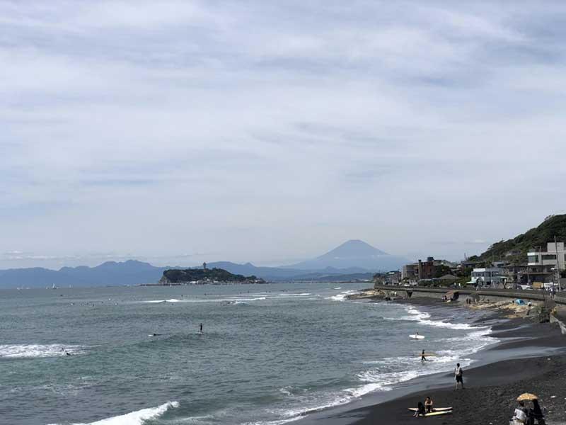 今日は富士山が見えるぞー