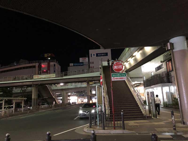 夜の藤沢駅南口