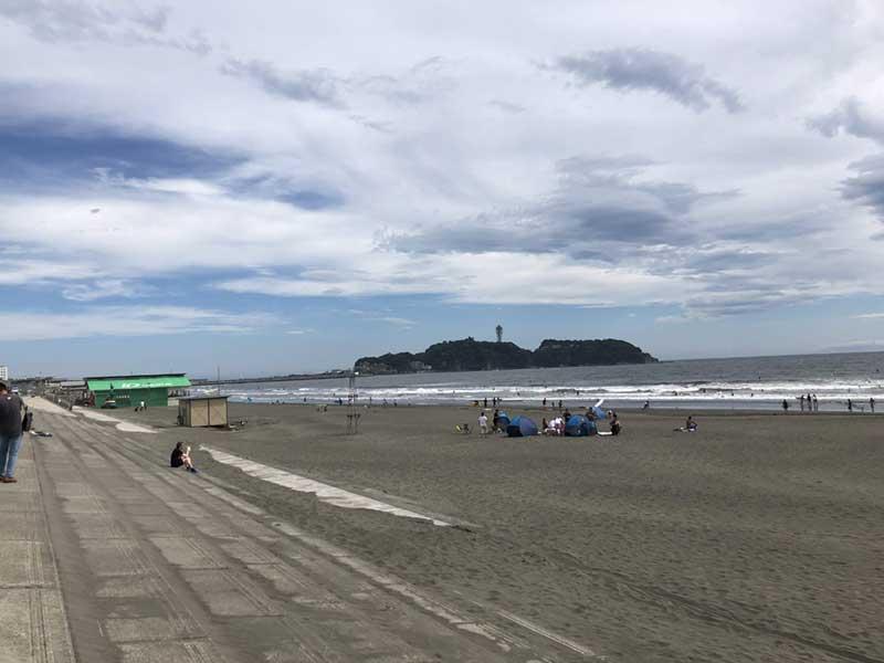 鵠沼海岸も海水浴終了