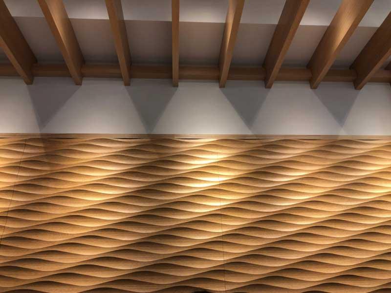 木目調の内装