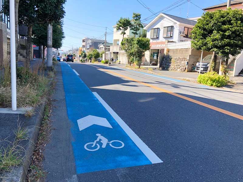 自転車の街だそうです茅ヶ崎