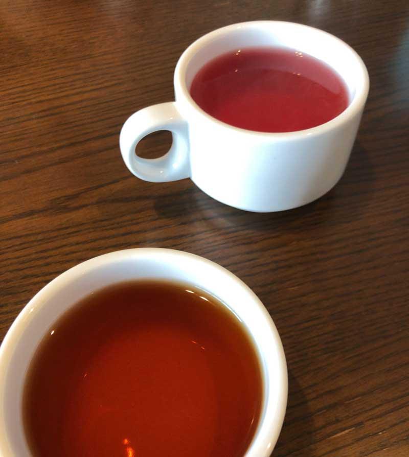 和紅茶が渋くておいしい