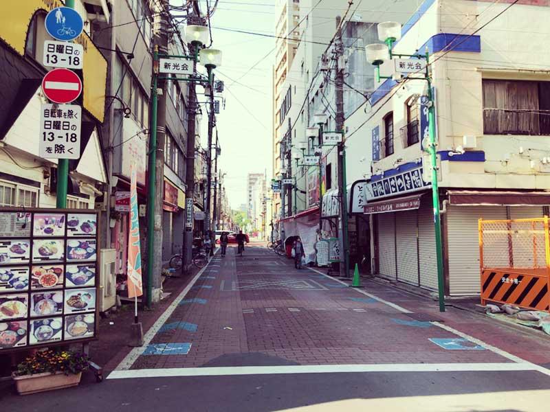 平塚駅北口商店街