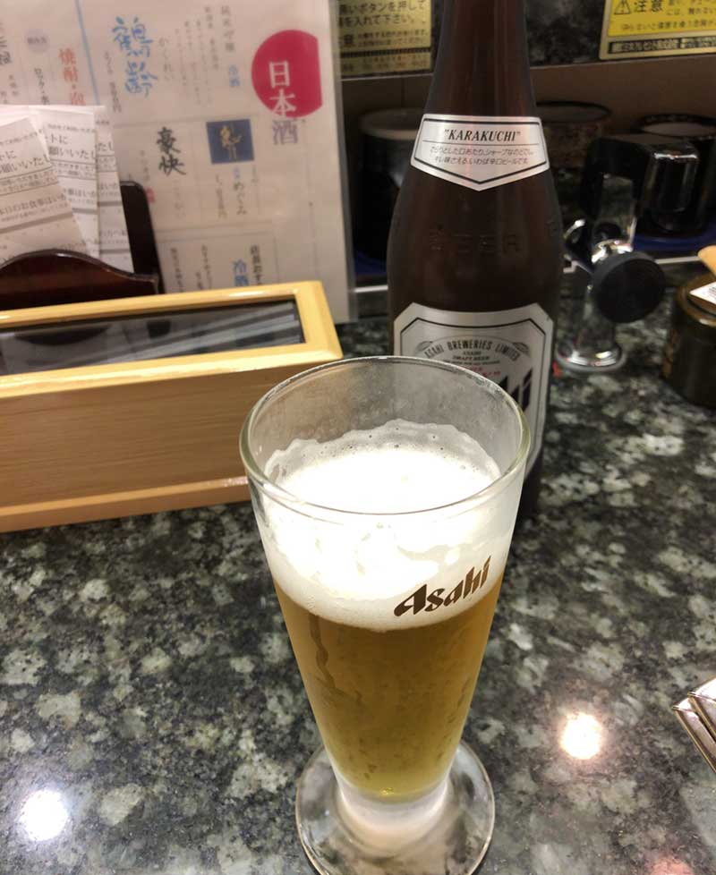 冷たいビールで準備OK