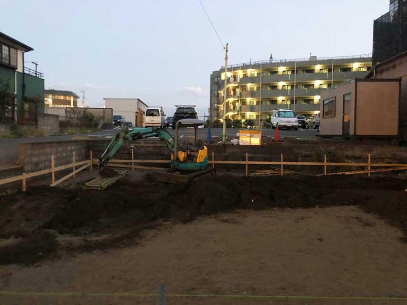 江の島プリンの工事はまだ始まったばかり