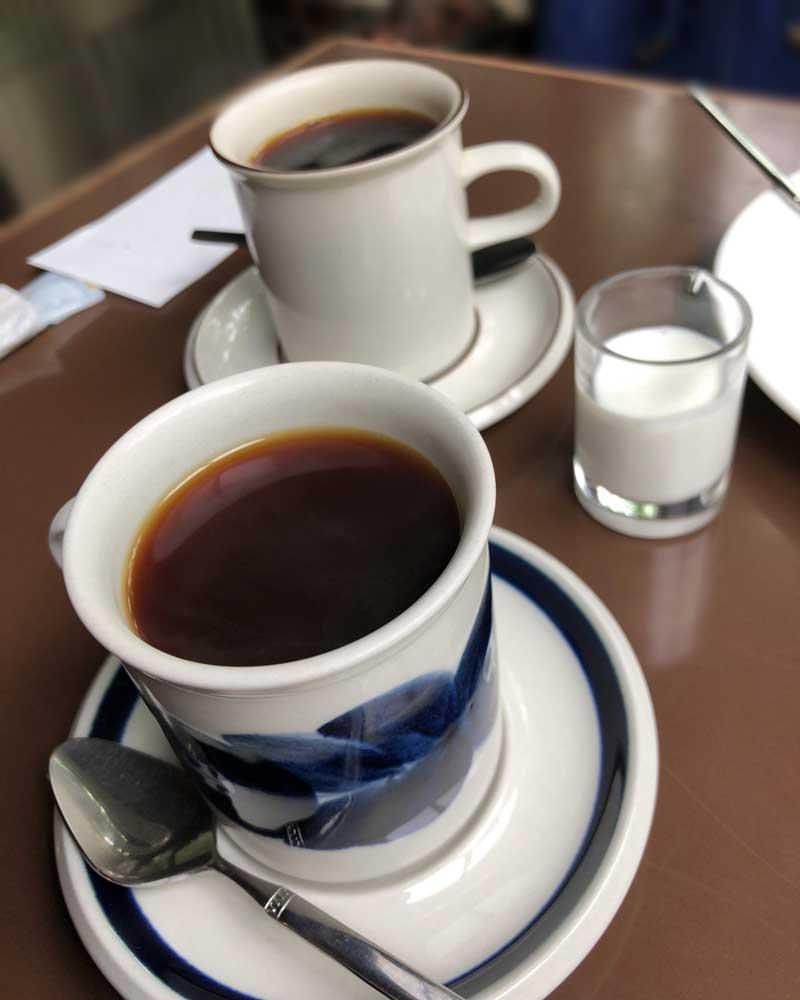 喫茶吉野の本格珈琲