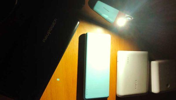 【台風24号で湘南停電】ロウソクよりもモバイルバッテリーが災害時に役に立つ!複数台備えておくと安心です!