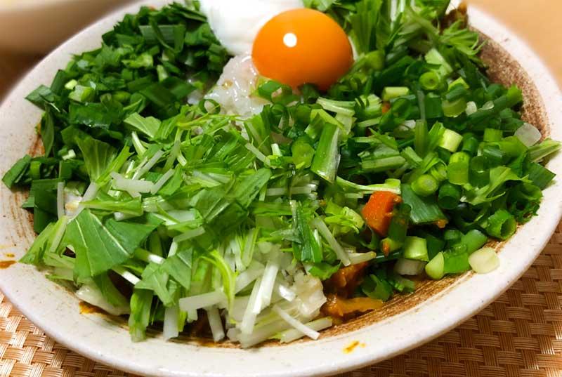 生野菜がたくさんとれる