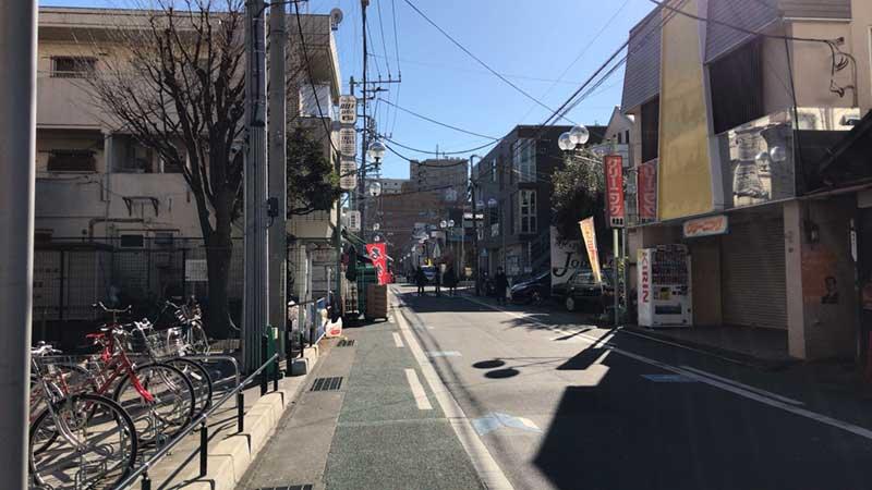 宮松町の商店街