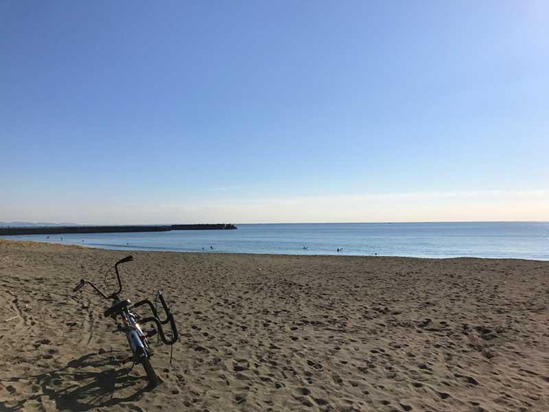 大きな平塚の海