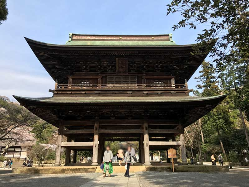 北鎌倉の円覚寺