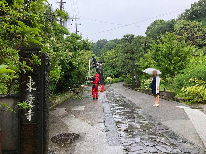 北鎌倉にある東慶寺