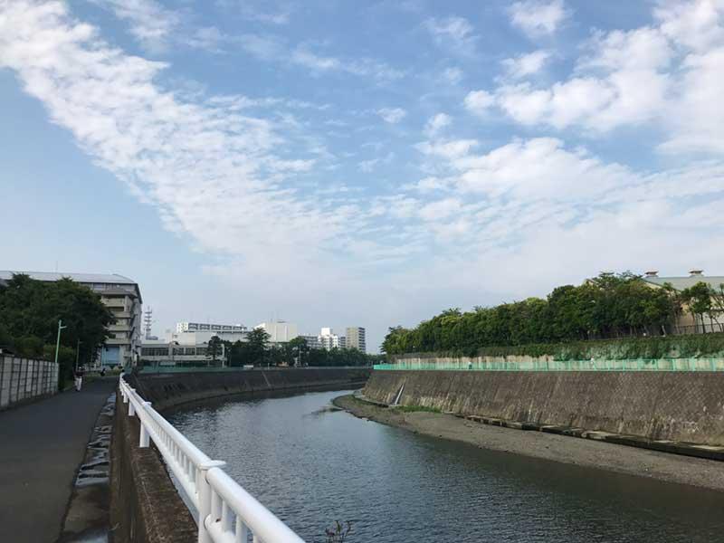 川沿いの藤沢南エリア