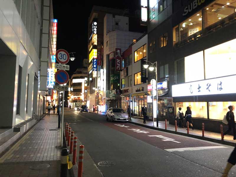 湘南随一の繁華街が広がっています