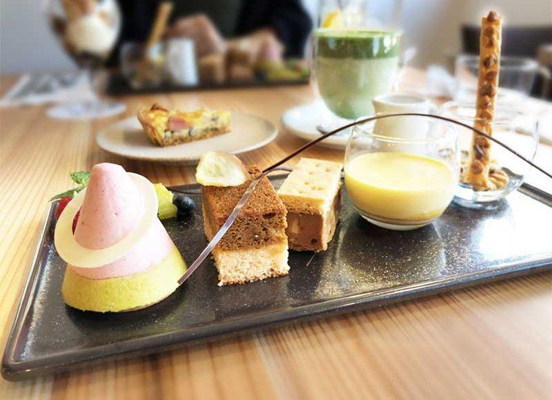 【鎌倉サロンドクルミッコ】予約限定メニューを食べた感想!ここでしか食べられない生クルミッ子ケーキにはお茶を合わせたい!