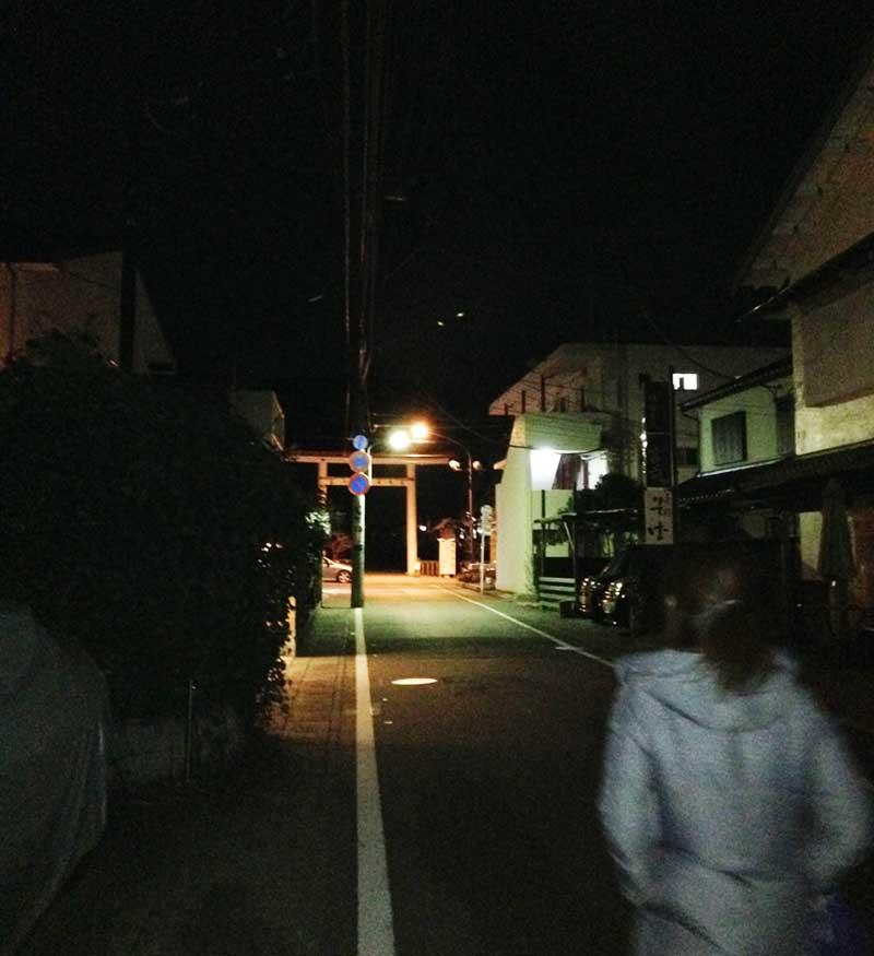 鎌倉の中心から離れた静かな住宅街
