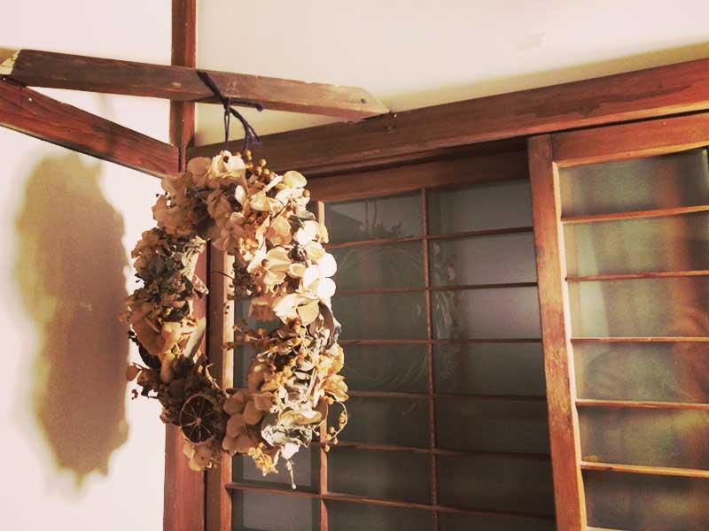 こんな飾りも鎌倉の古民家っぽい