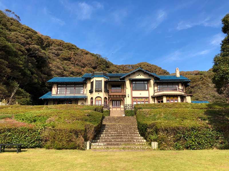 鎌倉文学館の御屋敷