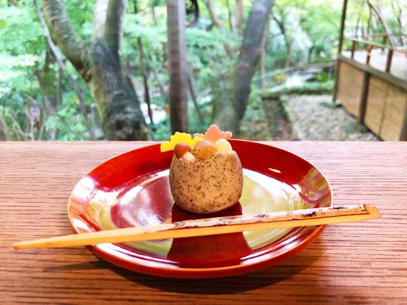 秋がつまった和菓子