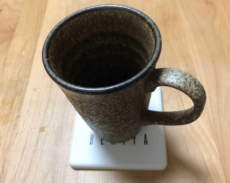 渋めのカップが合う
