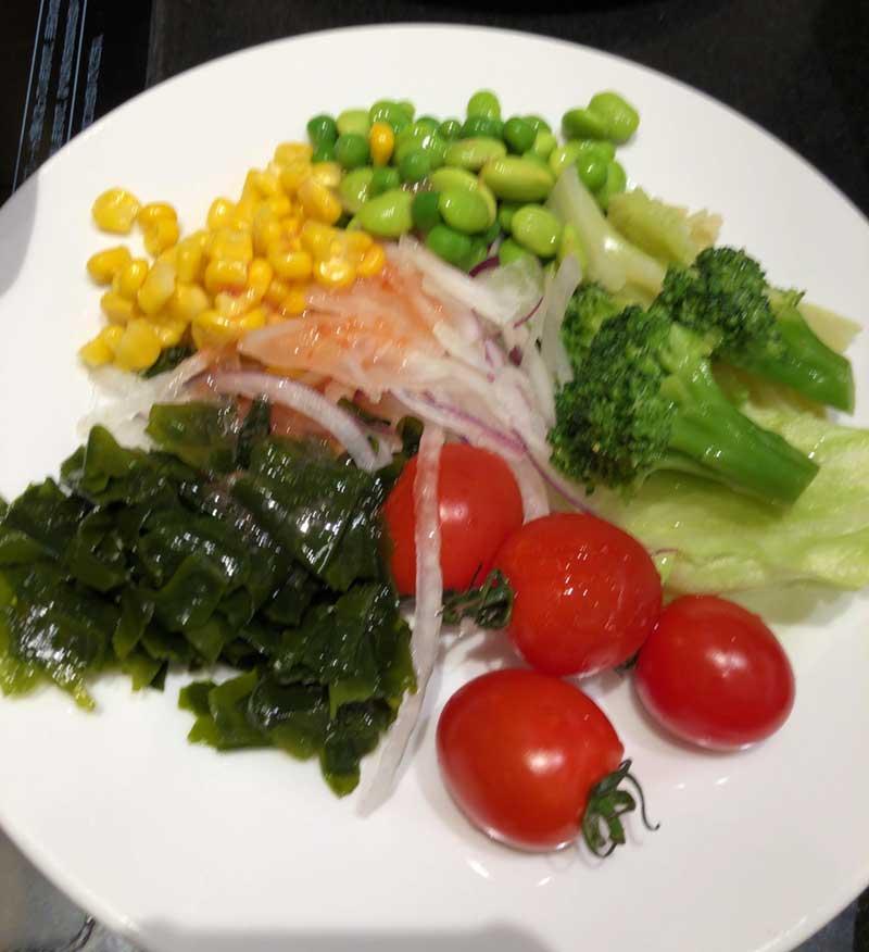 野菜もいっぱい食べられる