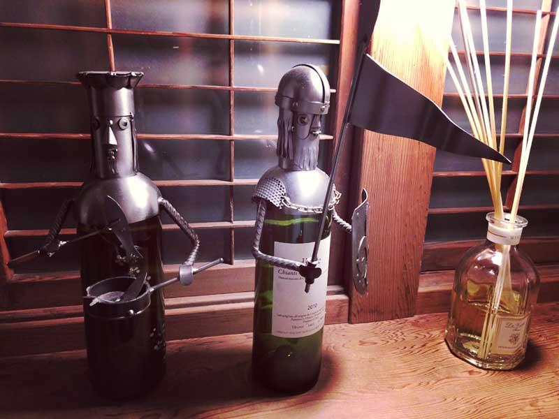 どんなワインが出てくるか楽しみ