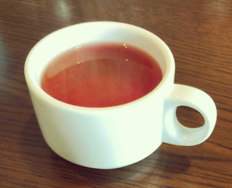 アツい紅茶が合う