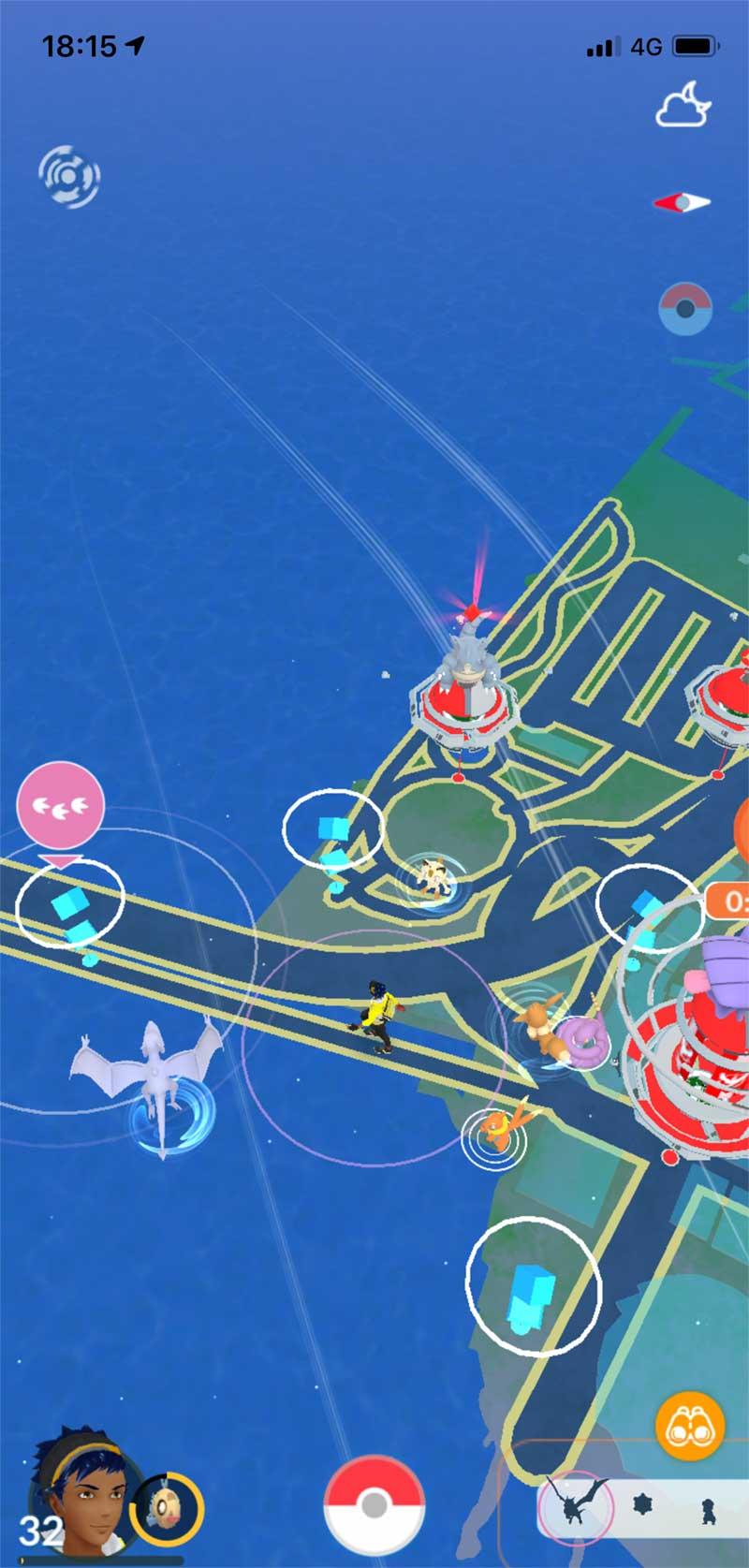 江ノ島の入口でプテラ発見!