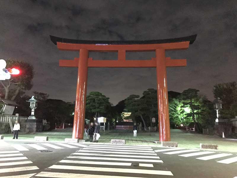 鎌倉散策の〆のディナーは