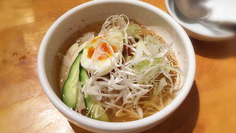 冷麺も韓国風