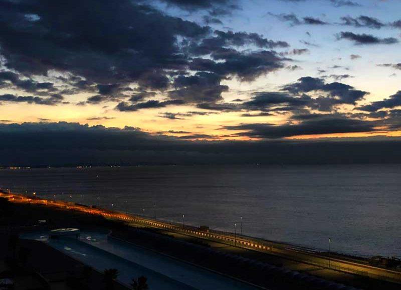【大磯プリンスTHERMAL SPA S.WAVE】大人向けナイトスパ!インフィニティプールの夜景が最高!