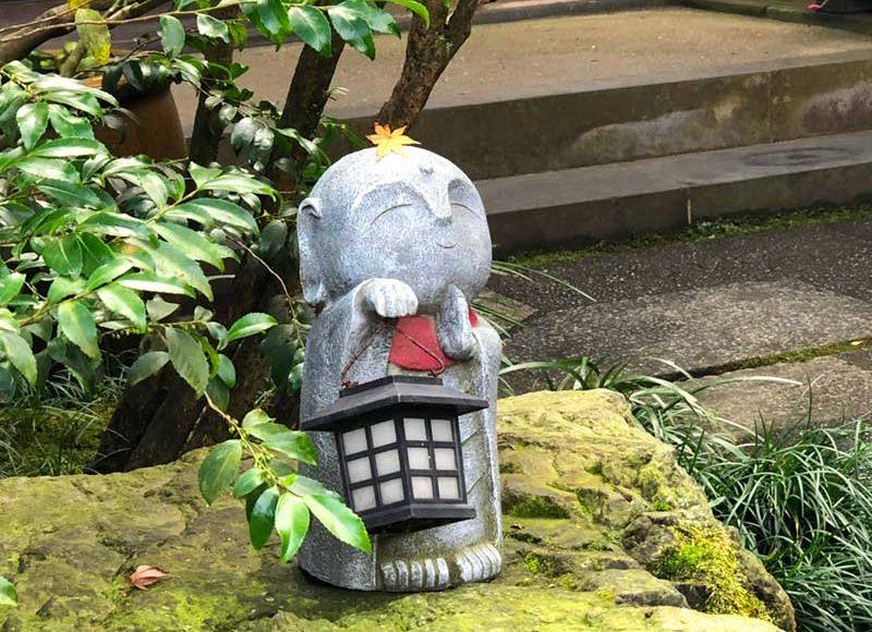 【明月院はKAWAIIがいっぱい!】うさぎにリスに猫も地蔵も全部かわいい!
