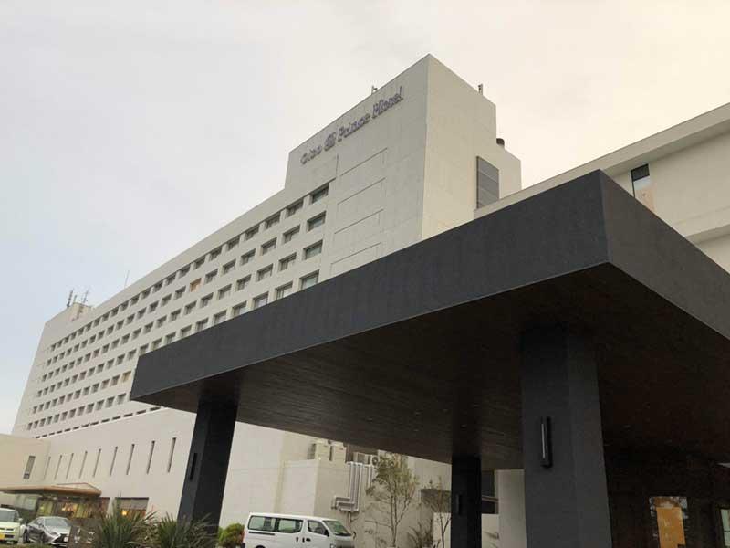 冬の大磯プリンスホテル