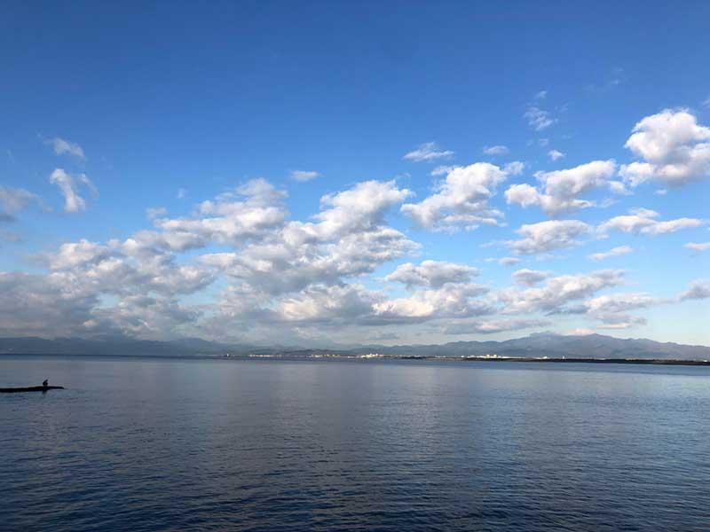 富士山は見えないけどいい天気だ