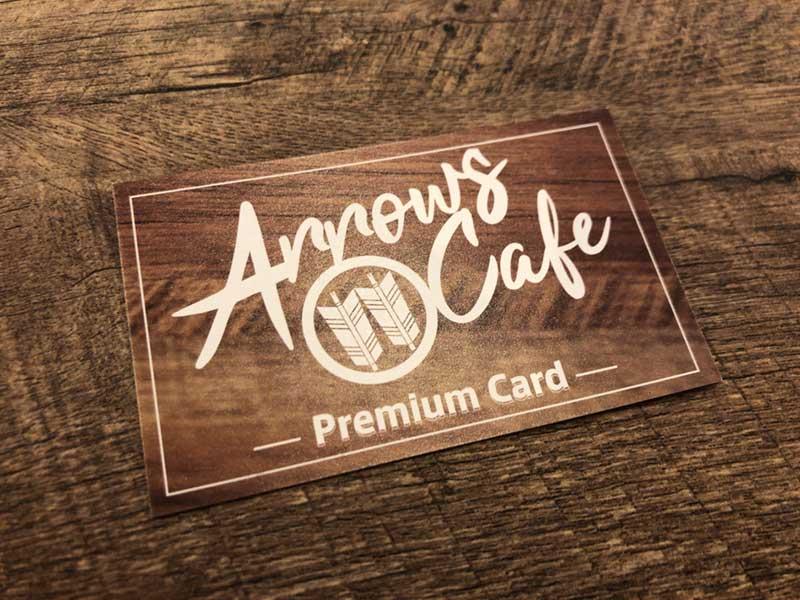 ArrowsCafeのお得なプレミアムカード