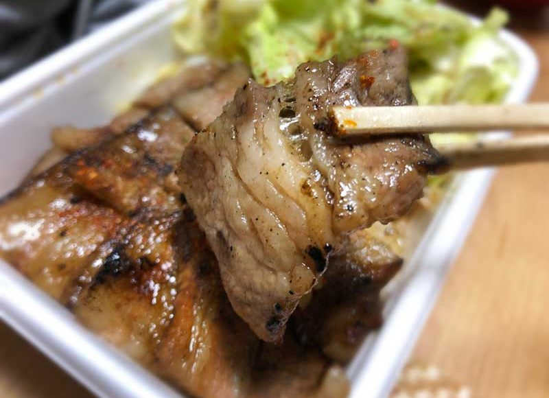 【平塚デカ盛り豚丼】持ち帰り弁当もなまらうまいっしょ!蒸されてふっくら豚重に!