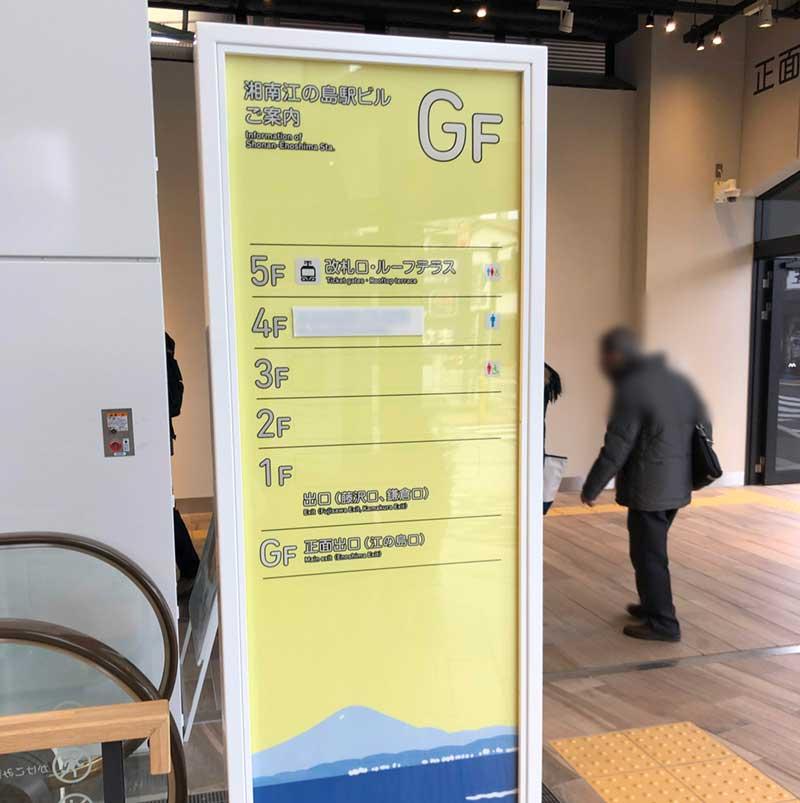 5階まである新駅ビル